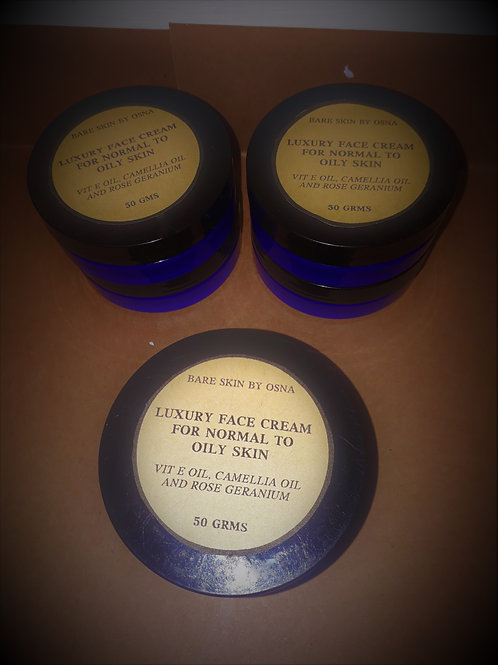 Luxury face cream (Normal/Oily skin) 50g