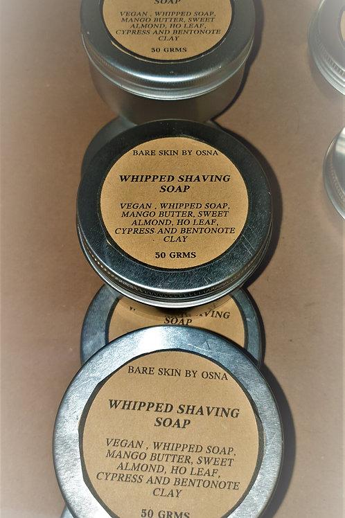 Vegan Whipped Shaving Soap 50 gms