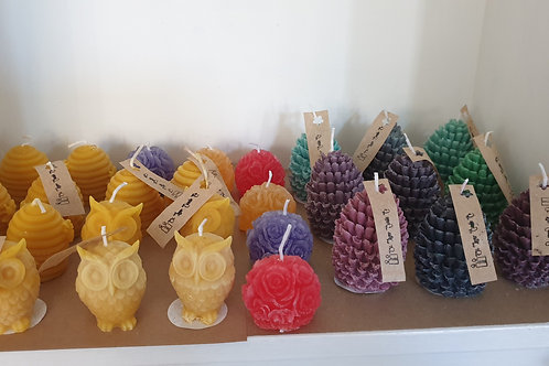 Soy Wax Pine Cone Candle