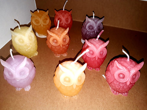 Soy Wax handmade owls