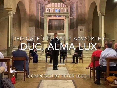 Duc, alma lux (Lead, kindly light)