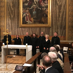 Cappella Fede at the Venerable English College, Rome