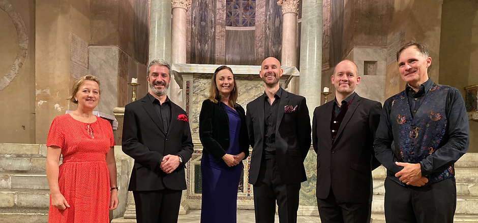 Cappella Fede Rome Oct 2019 with Sally A