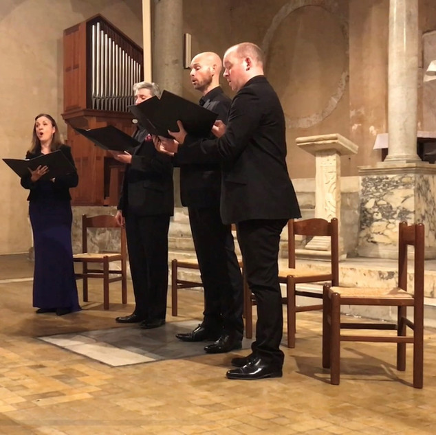 Cappella Fede in San Giorgio in Velabro, 13 October 2019