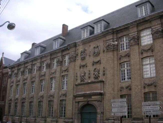 Contemporary street view of the former English Jesuit College, St Omer © Peter Leech, 2011, All Rights Reserved