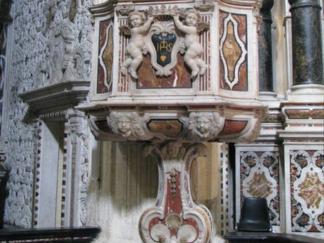 jesuit-church-cagliari-sardinia-pulpit