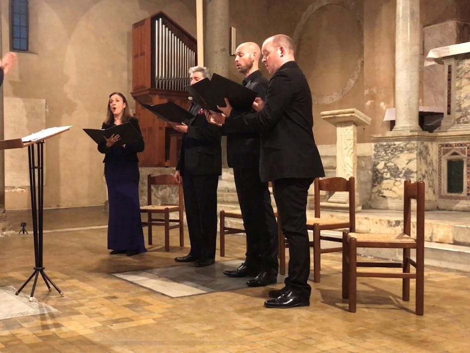 Cappella Fede, Rome, 13 October 2019, San Giorgio in Velabro
