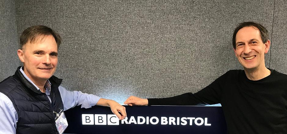 Peter & Steve Yabsley BBC Radio Bristol