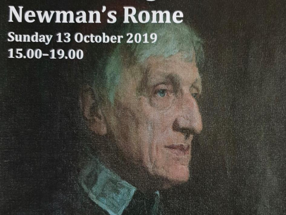 Poster - A walk through Newman's Rome