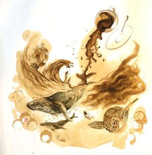 [SOLD] CA006 - Imaginary world of coffee - Love Earth