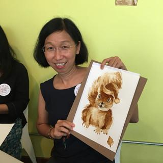 MWAS coffee art prelaunch event 10