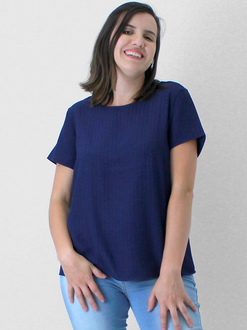 005331 - Blusa Viscose Det Costas Mc