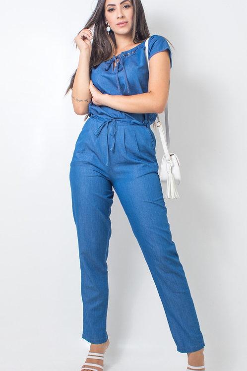 004997 - Calça Jeans Cordão