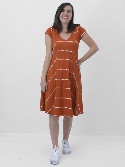 005372 - Vestido Listrada