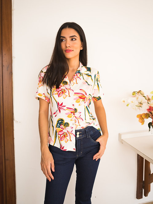 005231 - Camisa Floral