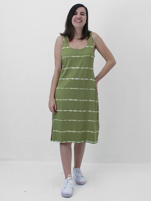 005374 - Vestido Listrada