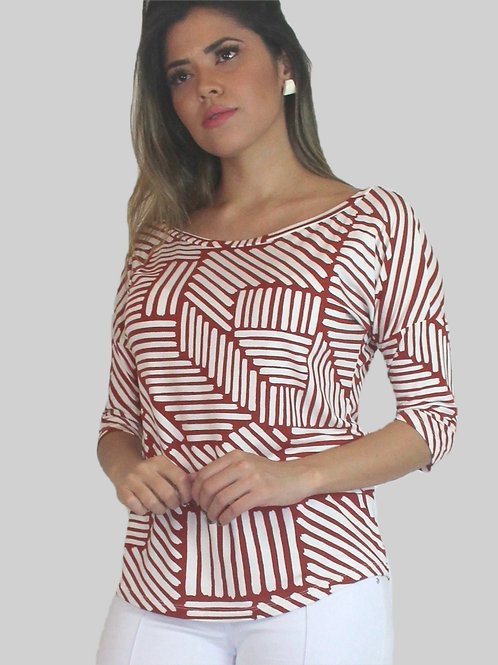 005181 - Blusa Visco Estamp Morcego