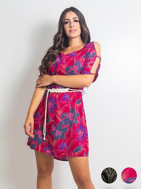004941 - Vestido Ombro Vazado