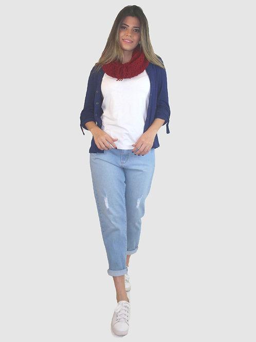 005141 - Camisa Visco Canelada