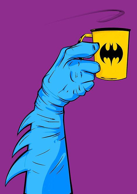 Superfood series Batman - A4 / A3 print