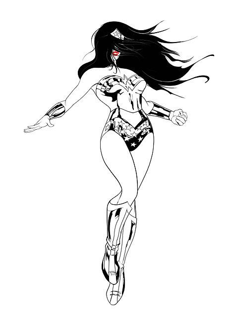 Wonder Woman Freedom - A4 / A3 print