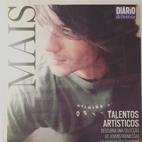 Featured at the cover of Diário de Notícias Magazine