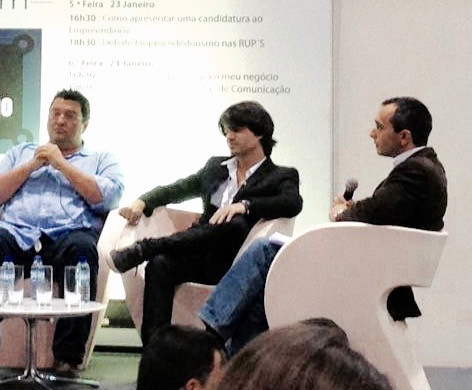 During the entrepreneurs expo @ Madeira tecnolopolo
