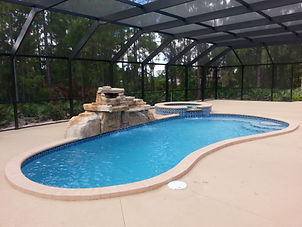 Fiberglass Pool Construction