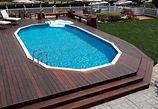 Fiberglass pools - custom made