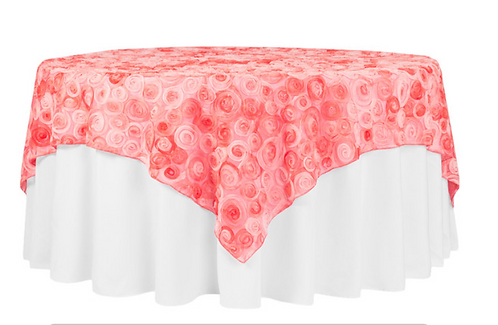 Rosette Overlay-Coral