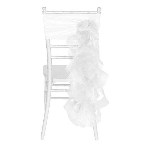Chair Sash - White