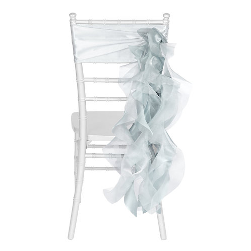 Chair Sash - Dusty blue