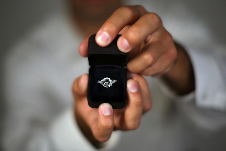 Wedding proposal Italy