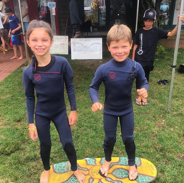 Balance board with wetsuits.jpg