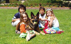 Esther Visits with Kids in Santa Monica