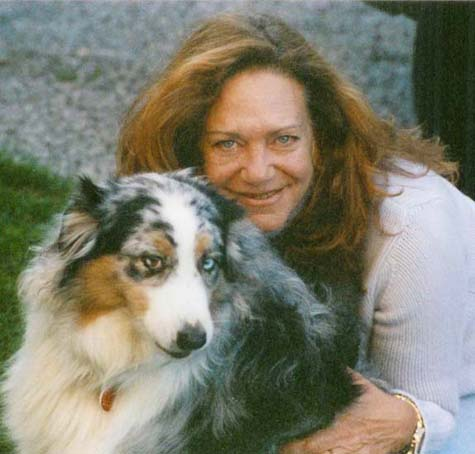 Bobbie and her Dog Thea