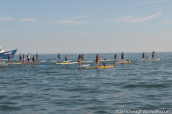 Paddlers in front of Kimberly