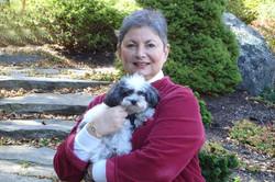 Maxine and Her Dog Jemma