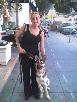 Dr Jenn and Stella
