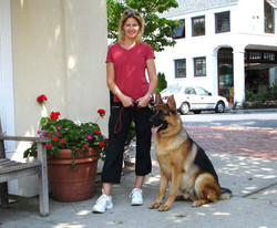 Tracy and Her Dog, Tyson