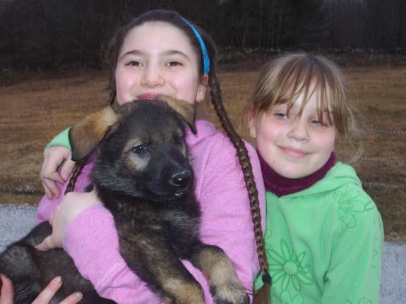 Lily, Maya and Karin