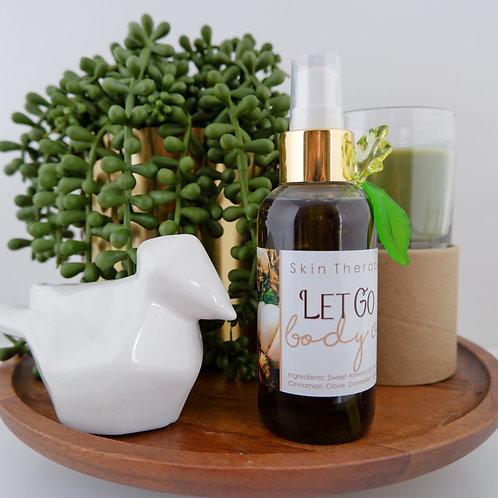 Let Go | Body Oil | Cinnamon Clove and Ginger.