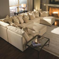 Custom Upholstery Modern Deep Sofas