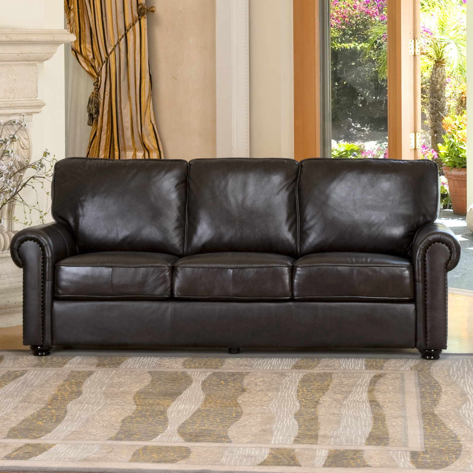 Abbyson-Living-Bliss-Leather-Sofa