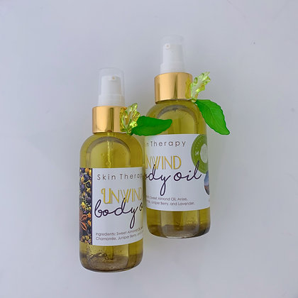 Anise Chamomile and Lavender. Unwind Body Oil