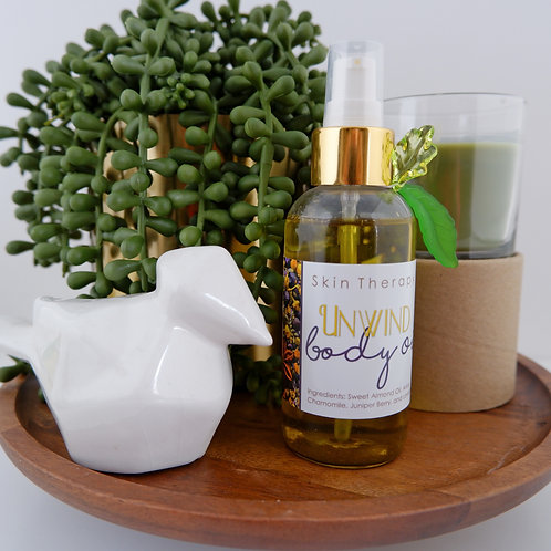 Unwind | Body Oil | Anise Chamomile and Lavender.