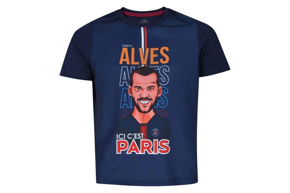Camiseta Infantil PSG Daniel Alves