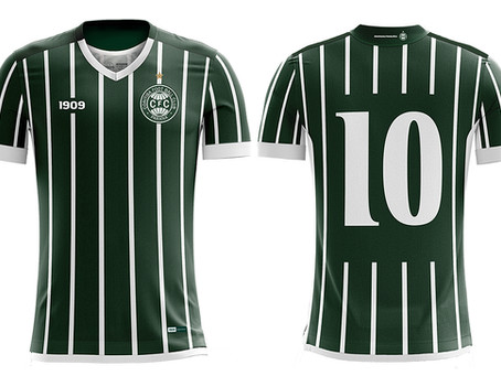 Bomache lança uniforme 2019/20 away do Coritiba.