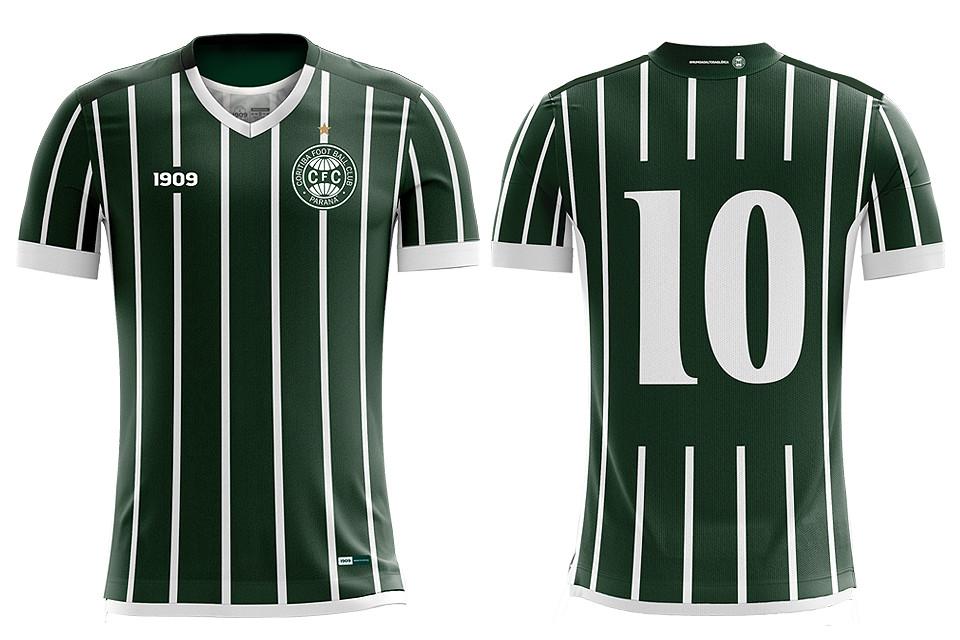 1909 - Marca Própria do Coritiba - Uniforme 02 - Jogadeira
