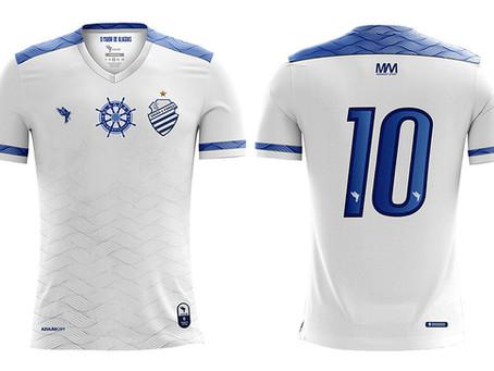 Bomache lança novo uniforme do CSA.